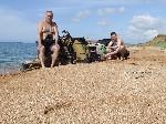 Привал на берегу моря