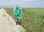 Дорога через российский военный полигон
