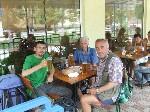 Пиво в Феодосии за окончание очередного этапа пути