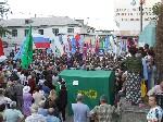 Митинг против НАТО в порту Феодосии