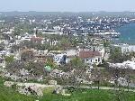 Вид на Керчь с горы Митридат